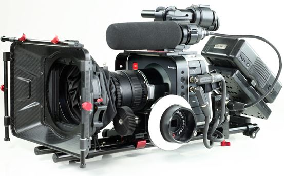 My Blackmagic camera